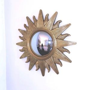 Other - Heavy duty gold sun fish lens mirror